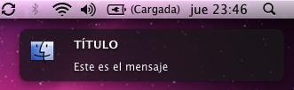 Mensaje de Growl con icono personalizado