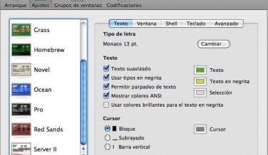 Truco: Pseudo-Putty escondido en Mac